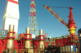 Compressor systems for Offshore Stationary Platform Prirazlomnaya (Russia)